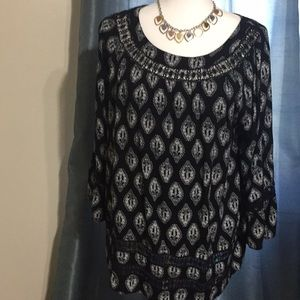 Honey Punch pullover tunic